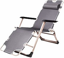 ZYLE Folding Chair Recliner Lazy Sofa Nap Bed