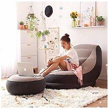 ZYLE Inflatable Lazy Sofa Single Sofa Bed Creative
