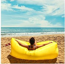 ZYLE Lazy Couch Inflatable Sofa Bed Waterproof