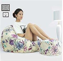 ZYLE Multi-color Lazy Sofa Tatami Bean Bag Single