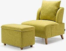 ZYLE Multifunctional Lazy Sofa Single Fabric Sofa