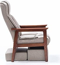 ZYLE Multifunctional Solid Wood Sofa Chair Lazy