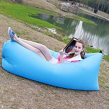ZYLE Outdoor Inflatable Sofa Lazy Sofa Bed Travel