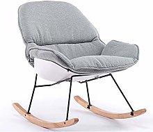 ZYLE Simple Chair Lazy Sofa Single Fabric Chair