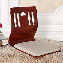 ZYLE Solid Wood Bed Chair Tatami Lazy Sofa Smooth