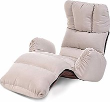 ZYLE Tatami Lazy Sofa Folding Chair Single Fabric