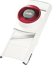 Zyliss E900027 4 in 1 Slicer and Grater, White/Red
