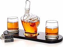 ZYLZL Barware Elegant Rifle Whiskey Decanter with