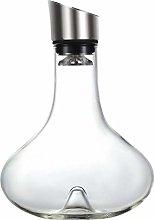 ZYLZL Barware Whisky Set Wine Breather Carafe with