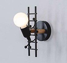 ZYLZL Creative Led Wall Lamp, Iron Wall Lights
