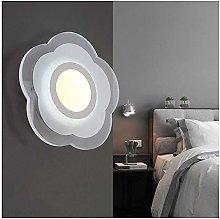 ZYLZL Flower Shape Wall Lamp Bedside Night Lights