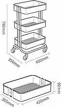 ZYLZL Hospital Trolley, Supplies Rack- Cart Tool