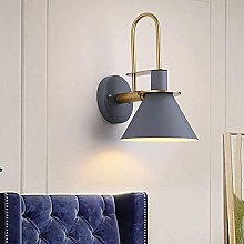 ZYLZL Metal Wall Ligh Bedroom Bedside Wall Lamp