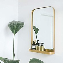 ZYLZL Mirror,Bathroom,Wall-Mounted,Makeup