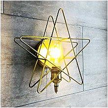 ZYLZL Pentagram Indoor Wall Light,Simple Wall