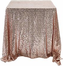 ZYQDRZ Color Tablecloth, Sequin Tablecloth,