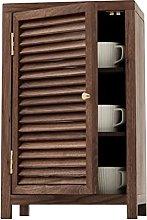 ZYR Buffet Sideboard Serving Storage Cabinet Black