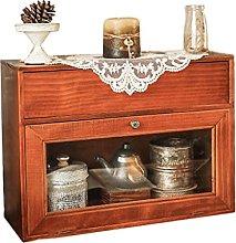 ZYR Desktop Cup Storage Box Coffee Cabinet Rack