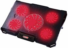 ZYR Laptop Cooler Cooling Pad With 5 Silence LED