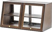 ZYR Office Tea Set Rack Countertop Cabinet Bar