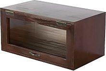 ZYR Solid Wood Desktop Storage Cabinet Small