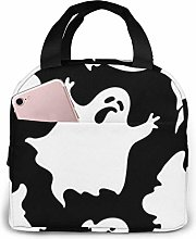 ZYWL Halloween Goth Printed Insulated Lunch Bag