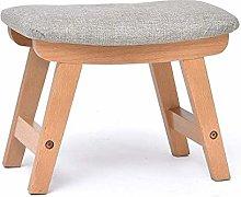 zyy Stool Wooden stool made massive birch Small