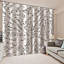ZYZYY Blackout Curtains 3D Thermal Insulated