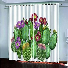 ZYZYY Young Opaque 3D Curtain, Curtain Of Fruit