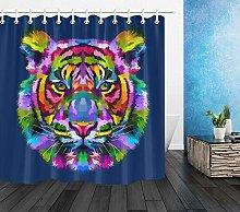 ZZ7379SL About colorful tiger animal prints