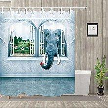 ZZ7379SL Beautiful garden 1 strong elephant
