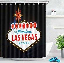 ZZ7379SL Welcome to Las Vegas Sign Bathroom