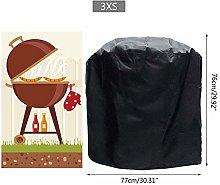 ZZALLL BBQ Cover Outdoor Dust Waterproof Weber