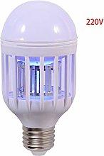 ZZALLL Bug Zapper Light Bulb 2 in 1 Fly Killer