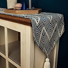 ZZFF Modern Geometric Table Runners With