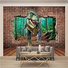 ZZFJFQ Photo Wallpaper Walls & Dinosaurs Wall