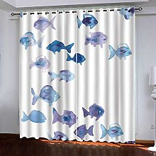 ZZFJFQ Super Soft Thermal Insulated Curtains