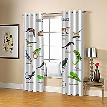 ZZFJFQ Super Soft Thermal Insulated Curtains Color