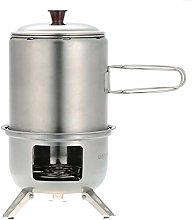 ZzheHou Camp Stoves Stainless Steel Camping Wood