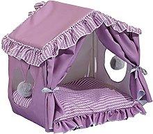 ZzheHou Pet Tent Pet Teepee House Fold Away Pet