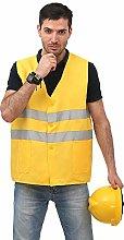 ZzheHou Safety Vest Adult High Visibility Vest