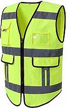 ZzheHou Safety Vest High Visibility Safety Vest