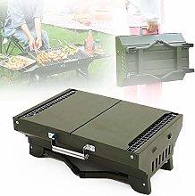 ZZJCY Portable Charcoal Grill Folding Bbq Grill