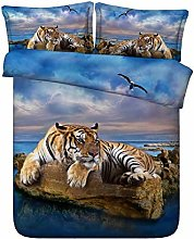 zzkds Bedding Sets Duvet Cover Set 3 Piece, 3d