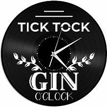 ZZLLL Clock vinyl wall clock unique gift for