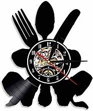 ZZLLL Modern design kitchen utensils vinyl record