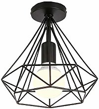ZZM Diamond Metal Wire Ceiling Light, E27