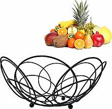 ZZMUK Iron Fruit Basket, Vintage Style Fruit