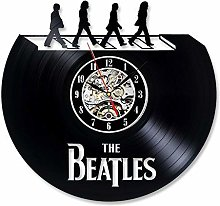 ZZNN Record wall clock The Beatles Design Vinyl