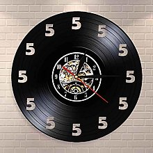 ZZNN Vinyl record wall clock It s Always Five O